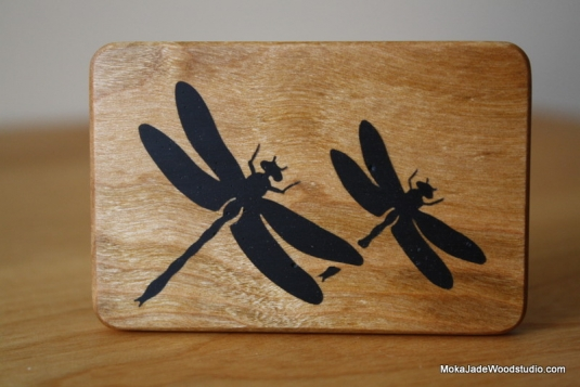 Butterfly made of wood and epoxy 17