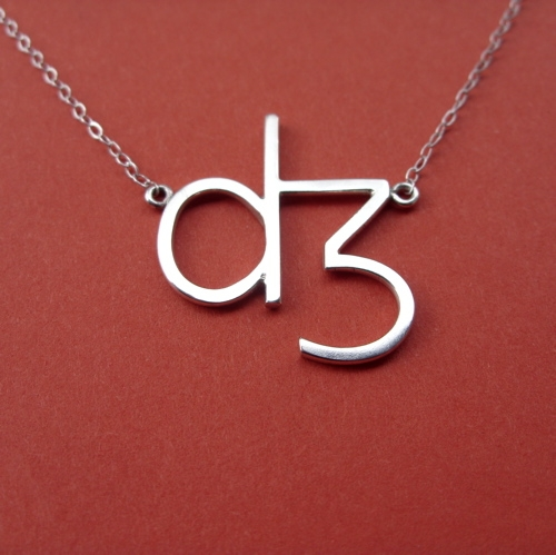 Phonetic symbol necklace cargoh more from my store mozeypictures Gallery