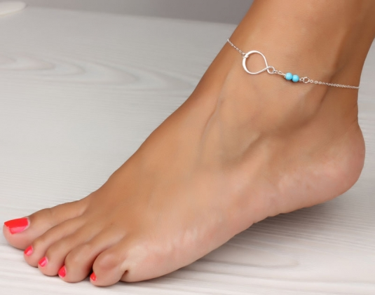 631aea391 Infinity anklet