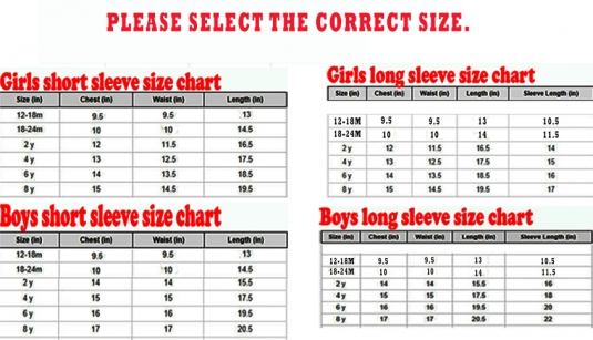 Boys' Youth/Junior Clothing Size There is a lot of cool youth clothing. But remember; it is very important that it fits well! For Boys' Youth/Junior clothing, 3 main sizing systems are used.