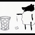 Action Sheep: Littering