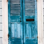blue doors, new orleans, doorway, haunted, blue