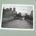 notre dame-eco friendly postcard
