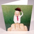Greetings From Mr. Bird - Greeting Card 5-pack front
