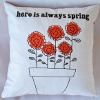 Always Spring cushion cover