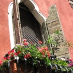 italian window in venice