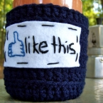 like this funny coffee mug cozy
