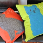 Cat and Dog cushion covers