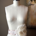 Wedding Sash - The Maria Bridal Belt