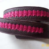 2 part braided belt