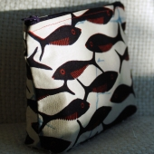 Quirky Fish  cosmetic case