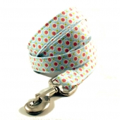 Dippin Dots Fabric Dog Leash