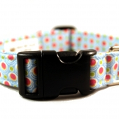 Dippin Dots  Fabric Dog Collar