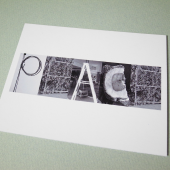 peace eco-friendly postcard