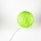 Table lamp, accent light, night light, modern interior accent Lime Green