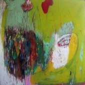 large colorful abstract
