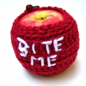 bite me apple cozy