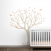Tweet Tree Wall Decal