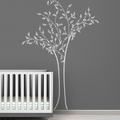 Berry Tree Black Label Wall Decal
