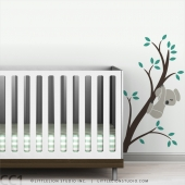 Koala Branch III Wall Decal