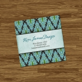 Classy Mini Calling Cards - Set of 100