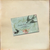 Vintage Birds and Flowers Calling Card - Set of 25