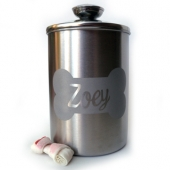 LuckyPups Personalized Treat Jar