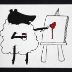 Action Sheep: Painting