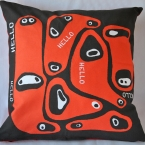 Welcome cushion cover