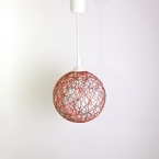 Handmade lamp, lamp shade, pendant light, ceiling, hanging lamp, accent lamp