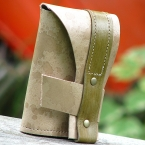 Leather Trifold Wallet by Sewlutions by AMO
