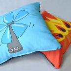 Cool and Warm cushion covers