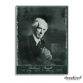 Bertrand Russell Philosophy Cards