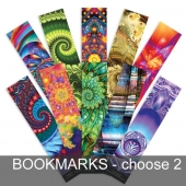 Bookmarks - fractal art by Dream Tree Studio - choose any 2 for $5