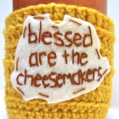 cheesemakers coffee mug cozy