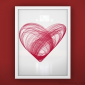 Heart - Unframed Print