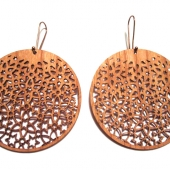 mosaic-light dangle earrings