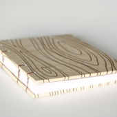 wood grain small journal