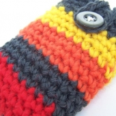wool stripe ipod iphone itouch case cozy cosy