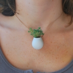 A Wearable Planter, No. 1